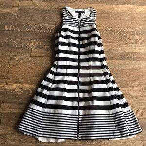 BCBG Max Azria B & W Sporty Dress (some flaws)